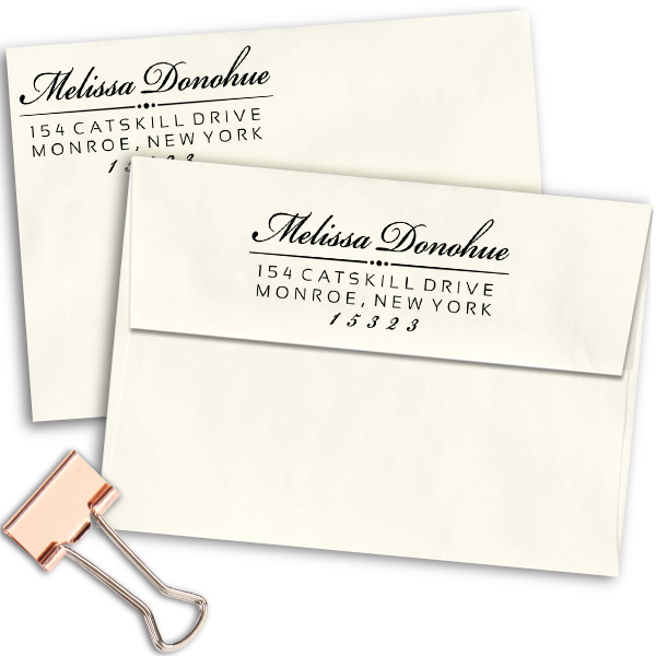 Donohue Personalized Address Stamp