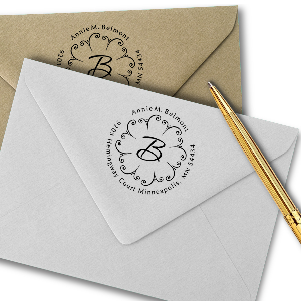 Fountain Personalized Address Stamp