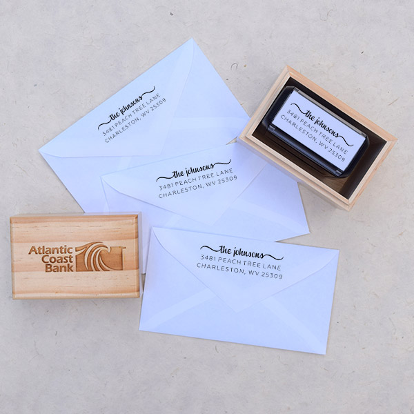 Company Logo Gift Stamp Body and Design