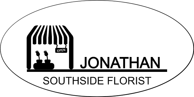 Florist Store Front 2 Line Oval Name Tag