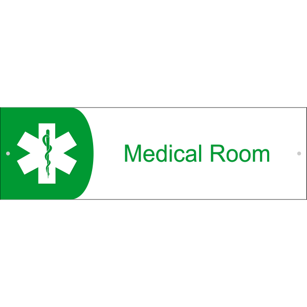 Medical Room Icon Acrylic Print Sign 3 Quot X 10 Quot Custom Signs