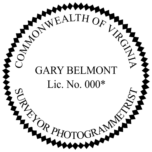 State of Virginia Surveyor Photogrammertrist