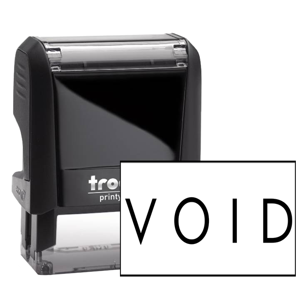VOID Stock Stamp