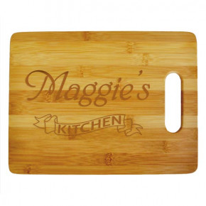 Maggie's Kitchen Large Cutting Board