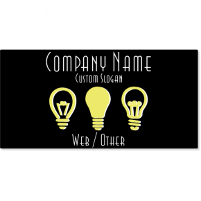 Electrical Company Magnetic Sign | Set of 2