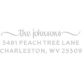 Charleston Rectangular Return Address Embosser