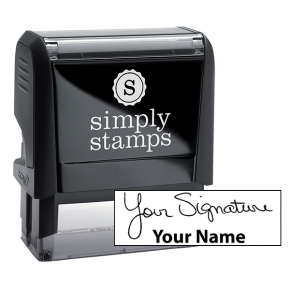 Large Signature Stamp Bottom