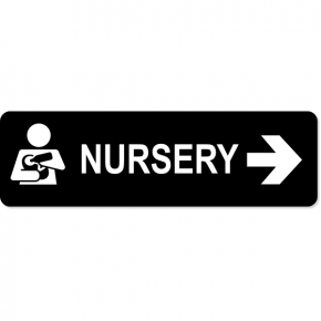 Nursery Right Sign