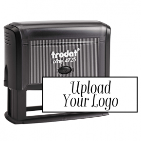 Custom Large Rectangle Logo Stamp