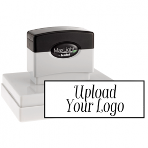 Custom Extra Large Rectangle Logo Stamp