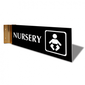 "Nursery Projection Sign | 4"" x 12"""