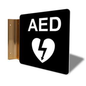 "AED Projection Sign | 6"" x 6"""