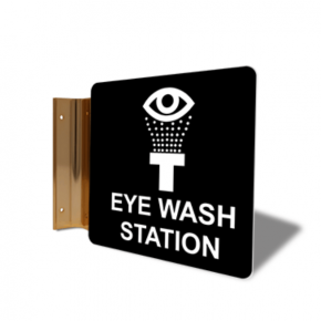 "Eye Wash Projection Sign | 6"" x 6"""