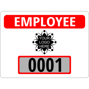 Custom Logo Clear Static Cling Parking Label