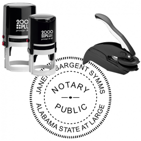 Alabama State at Large Notary Seal Stamp
