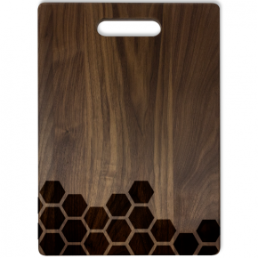 Scattered Honeycomb Large Cutting Board