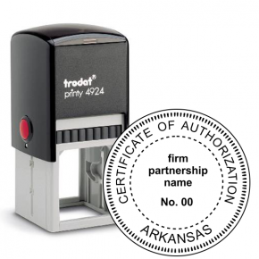 State of Arkansas Firm Authorization