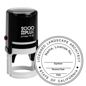 State of California Landscape Architect