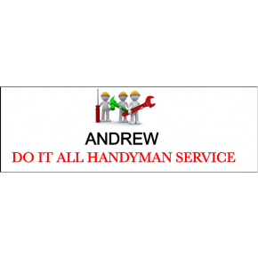 Maintenance Handyman Tools 2 Line Name Tag