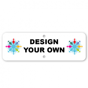 "4"" x 12"" Aluminum Sign Add-On"