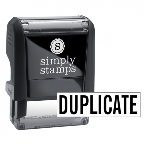 DUPLICATE Stock Stamp