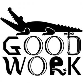 Good Work Teacher Stamp with Gator