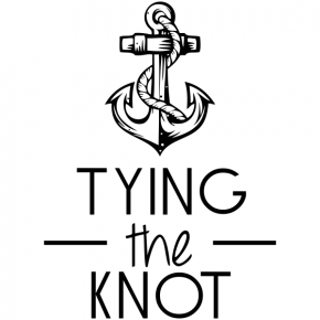 Anchor Tying the Knot Stamp