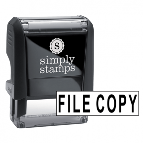 FILE COPY Stock Stamp