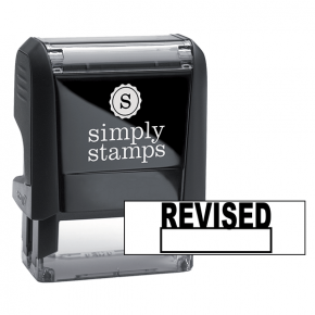 Revised Self Inking Stamp