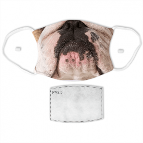 Bulldog Adult Face Mask