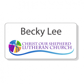 Christ Our Shepherd Lutheran Name Tag