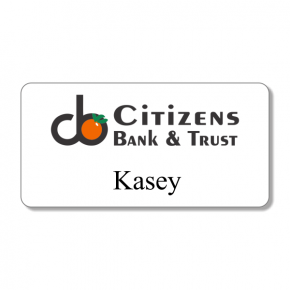 Citizens Bank & Trust - Name Tag