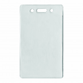 Clear ID Badge Holder (Vertical)