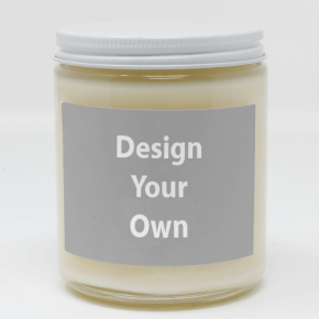 Customized Candle with Full Color Label