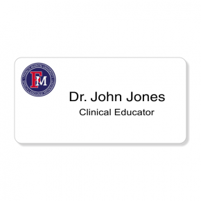 Francis Marion University - Clinical Educator Name Tag - Custom