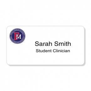 Francis Marion University- Student Clinician Name Tag - Custom