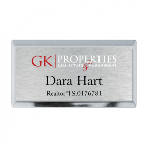 GK Properties Executive Name Tag