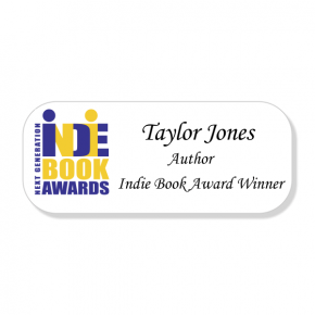 Headline Books - Indie Book Awards - Name Tag