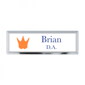 Henry the Dentist - Executive Badge - 2 Line