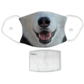 Husky Dog Adult Face Mask