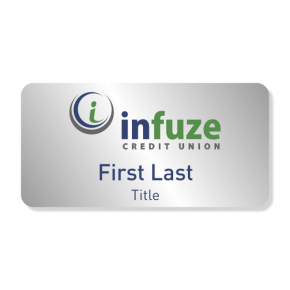 Infuze Credit Union NameTag - First, Last, Title