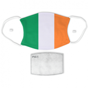 Flag of Ireland Adult Size Face Mask