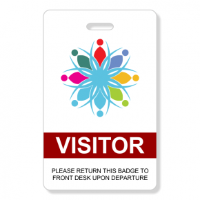 Logo Visitor Badge