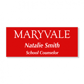 Maryvale Preparatory Name Tag