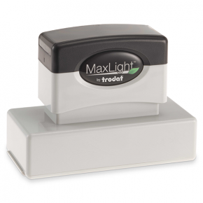MaxLight Custom Pre-Inked Stamp - MAX-185S -  Black Ink