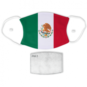Flag of Mexico Adult Size Face Mask