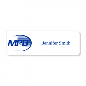 McGill, Power, Bell & Associates - Laser Engraved Name Tag