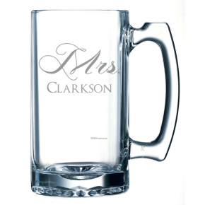 Personalized Mrs. Beer Mug