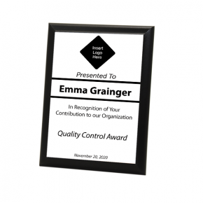 "Quality Control Goal 5"" X 7"" Full Color Photo Plaque"