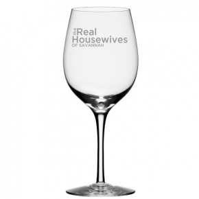 Real Housewives of Your Town Wine Glass